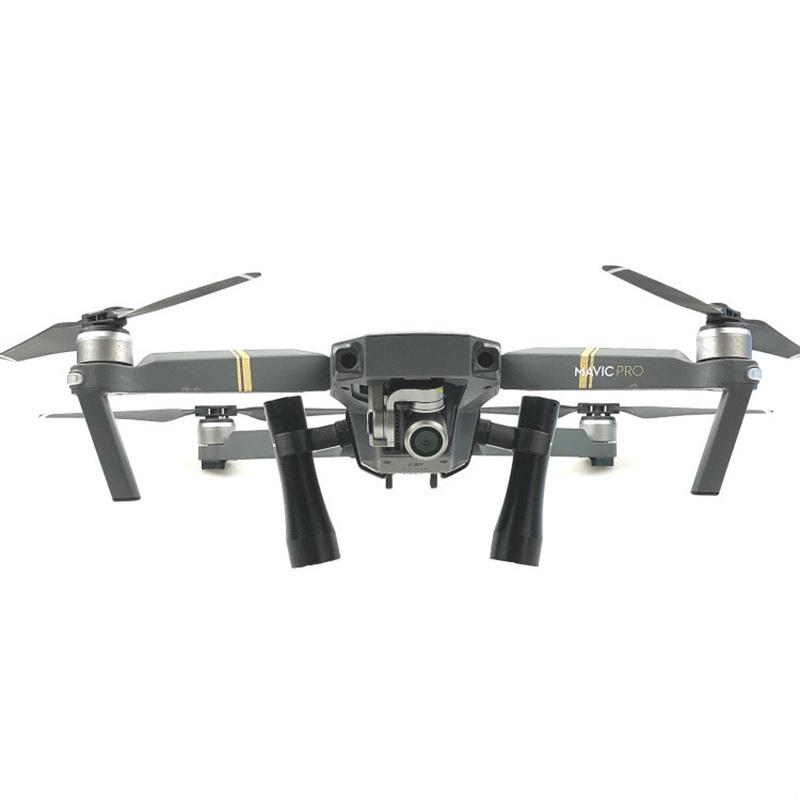 Night Flight Flash LED Light Lamp Kit For DJI Mavic Pro Drone Lighting Accessory